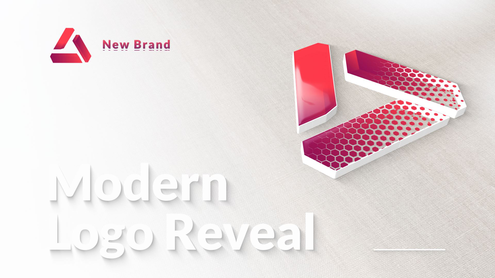 Modern & Clean Logo Reveal - 1