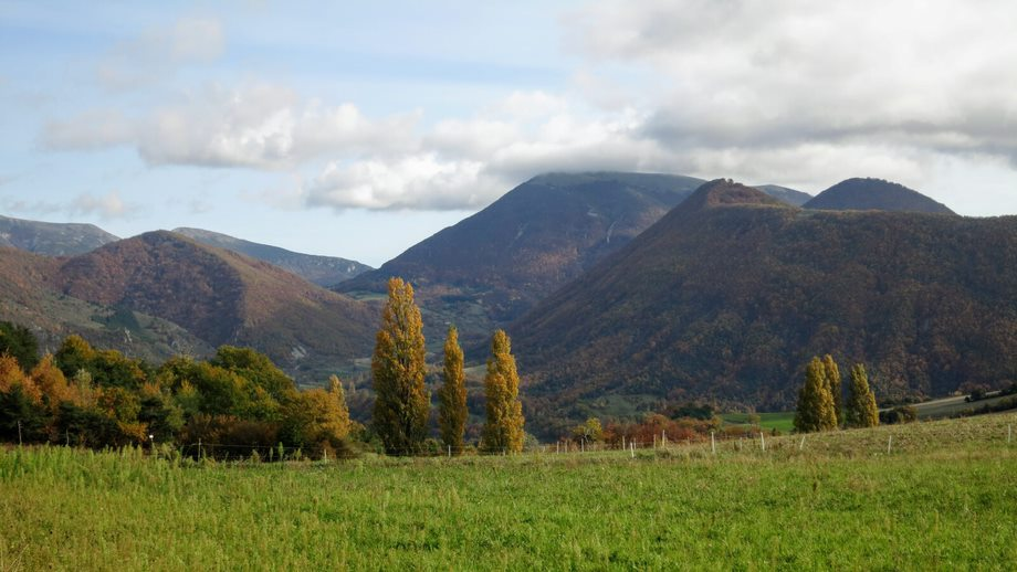 Vue du Col de Vesc